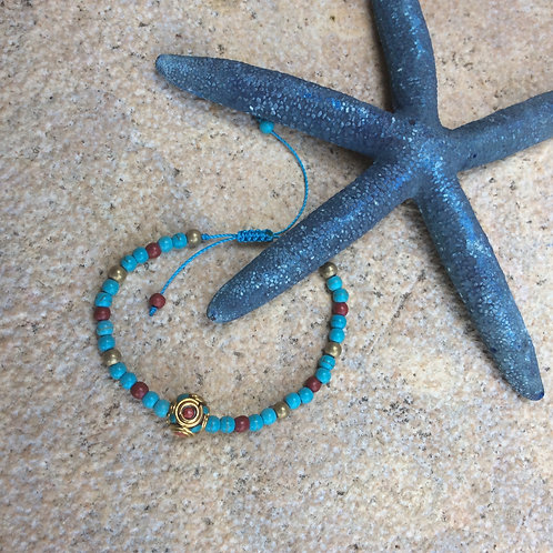 Βραχιόλι Bohemian beads