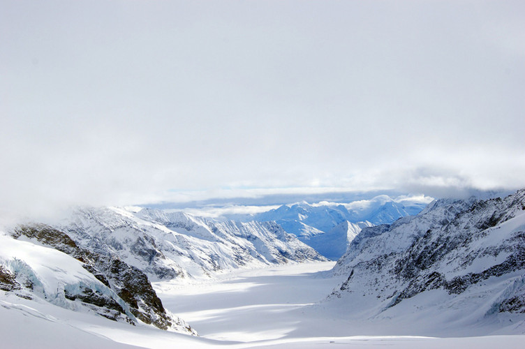 View from the Jungfraujoch