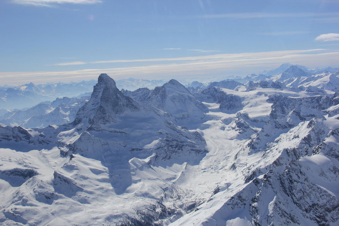 Matterhorn - Helicopter View