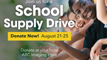 ABC Imaging School Supply Drive 17'