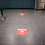 "Thumbnail: Social Distancing Carts- Floor Graphic 17""x17""-Non Slip"