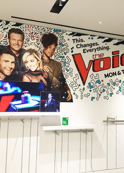THE VOICE-Pop-up Booth