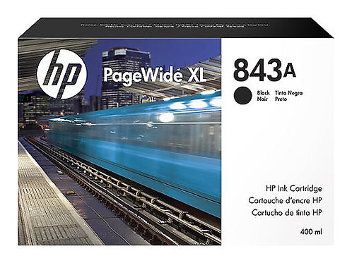 HP 843A 400-ml Black Ink Cartridge (for XL 4000,4500)