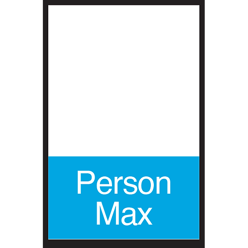 Series 3: Fillable/Blank Person Max - Poster/Sign