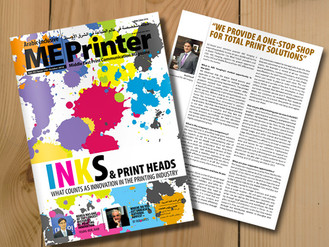 ABC IMAGING PRESIDENT  & CEO MEDI FALSAFI FEATURED IN ME | PRINTER OCT 2016 ISSUE
