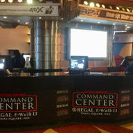 Starwars Command Center -Regal Cinema