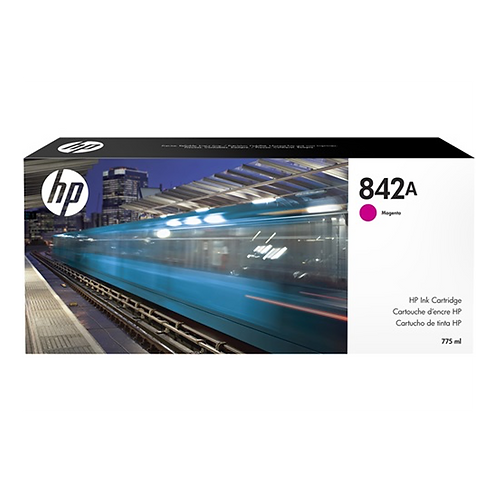HP 842A 775-ml Magenta Ink Cartridge (for XL 8000)