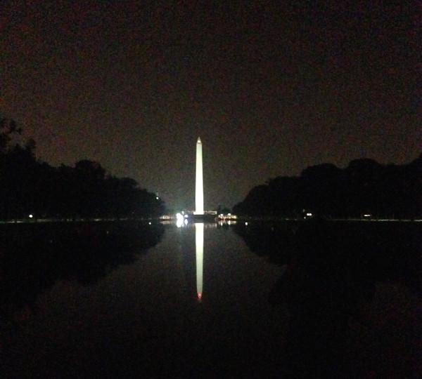 The Monument, depuis le Lincoln Memorial