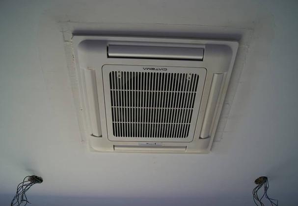 Calefacción mediante casette