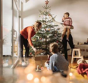 Albero di Natale della famiglia