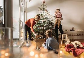 Familien-Weihnachtsbaum