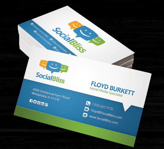 1000 x Business Cards