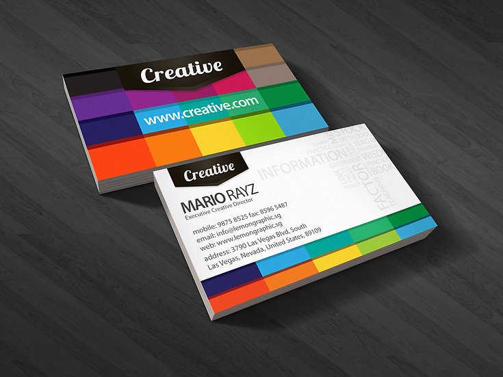 1000 x Premium Digital Business Cards