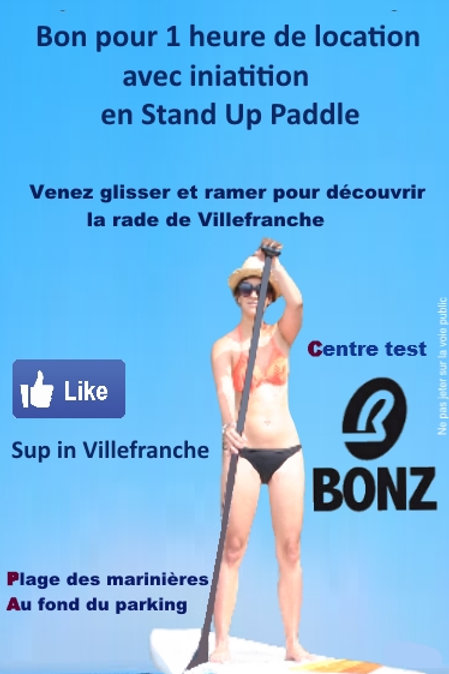 1 Heure de Stand Up Paddle