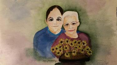 Nick and Grandma