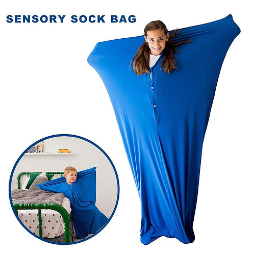 Elastic Stretchable Full Body Wrap Sock for Kids Autism Anxiety Treatment