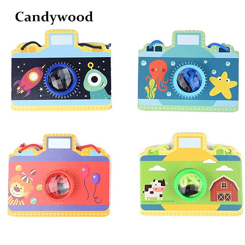 Camera Kaleidoscope Educational Toys for Children Autism Child Toy Birthday Gift