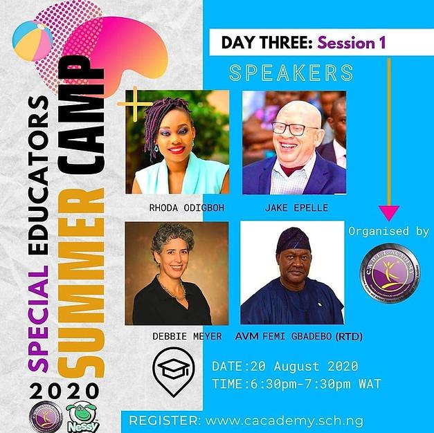 Day Three: Session 1