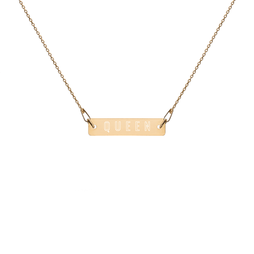 Made for Queens: Bar Chain Necklace