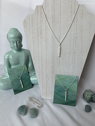 Water Goddess Pearl Necklace