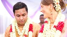 Rebecca & Jeevan's hindu blessing