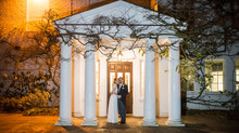 Lizzie & Tim winter wedding at Pembroke Lodge