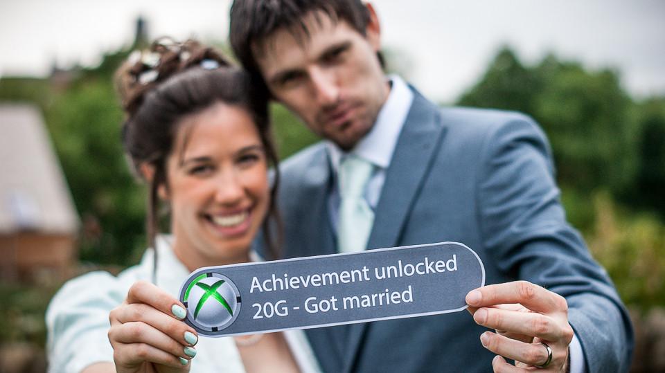 Xbox Wedding