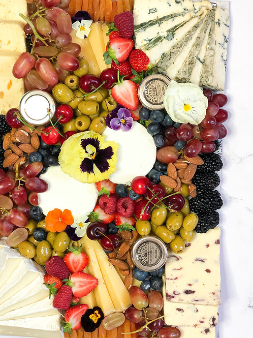 The Classic Cheese Platter