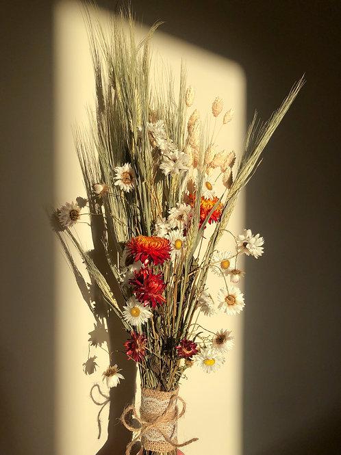 Autumnal Dried Blooms Bouquet