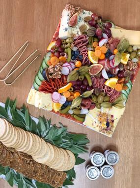 Platter Grazing Table