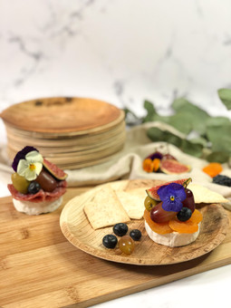 Mini Brie Canapés Plate
