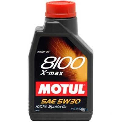 MOTUL 8100 X-MAX SAE 5W30 SL 1Litro