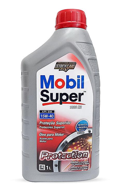 MOBIL SUPER 1000 X3 PROTECTION SAE 15W40  1Litro