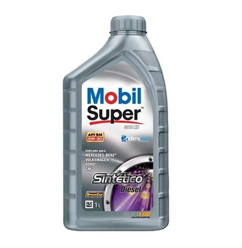 MOBIL SUPER 3000 XE DIESEL SAE 5W30 SM 1Litro