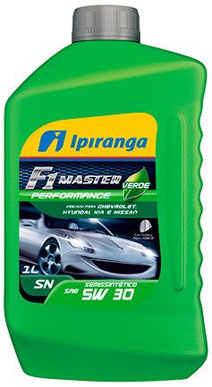 IPIRANGA F1 MASTER PERFORMANCE VERDE SAE 5W30 SN 1Litro