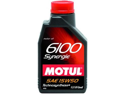 MOTUL 6100 SYNERGIE SAE 15W50 SL 1Litro