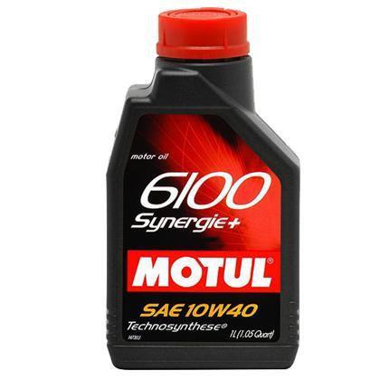 MOTUL 6100 SYNERGIE +  SAE 10W40 SL 1Litro