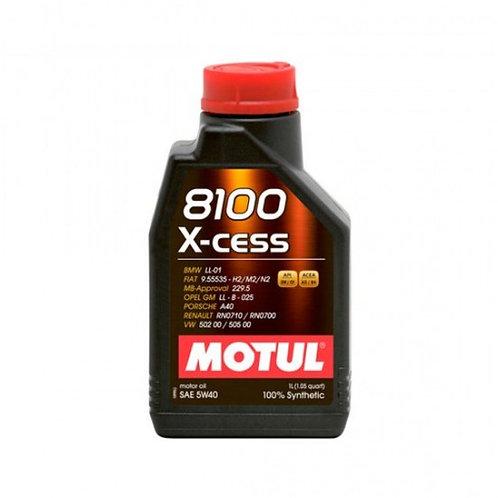 MOTUL 8100 X-CESS SAE 5W40 SL 1Litro