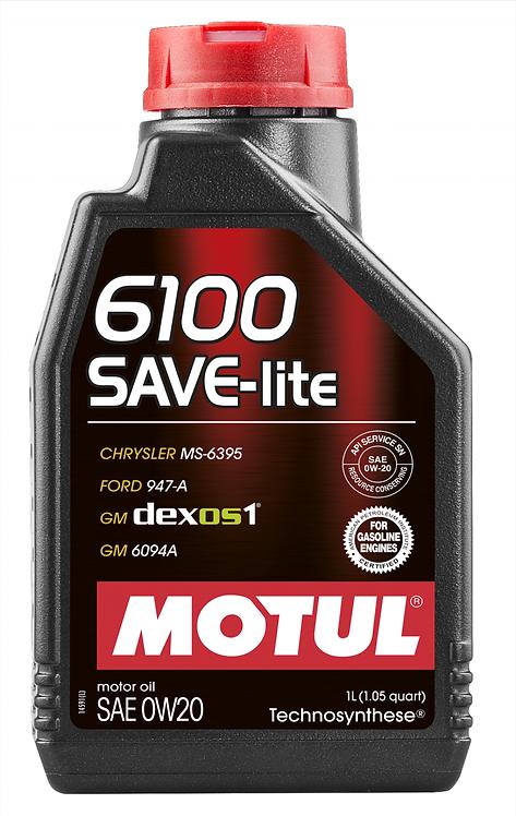 MOTUL 6100 SAVE-LITE SAE 0W20 1Litro