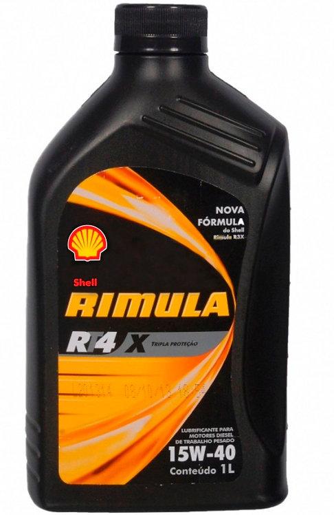 SHELL RIMULA RT4 X SAE 15W40 CI-4 1Litro