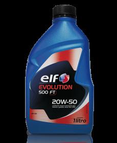 ELF EVOLUTION 500 FT  SAE 20W50 SN  1Litro