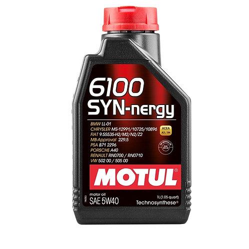 MOTUL 6100 SYN-NERGY SAE 5W40 1Litro