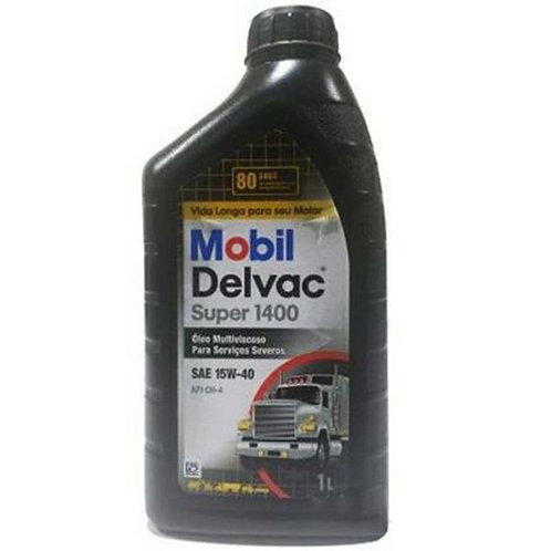 MOBIL  DELVAC SUPER 1400 SAE 15W40  1Litro