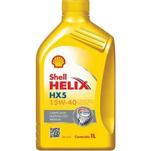 SHELL HELIX HX5 SAE 15W40 1Litro