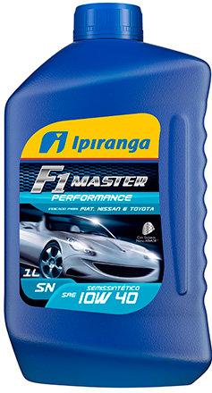 IPIRANGA F1 MASTER PERFORMANCE SAE 10W40 SN 1Litro