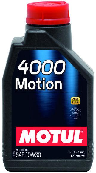 MOTUL 4000 MOTION SAE 10W30 SL 1Litro