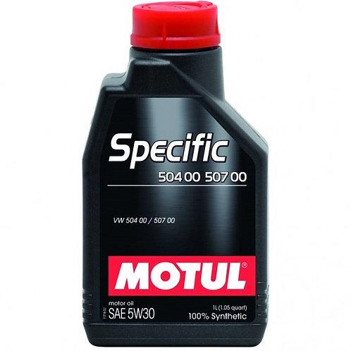 MOTUL SPECIFIC VW 504/507 SAE 5W30 1Litro