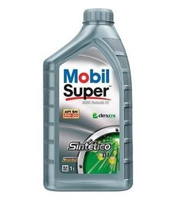 MOBIL SUPER 3000 FORMULA D1  DEXOS1  (GM)  SAE 5W30 SM  1Litro