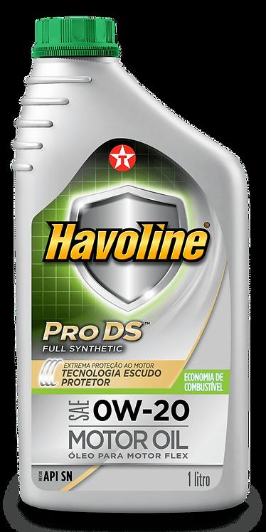 TEXACO HAVOLINE PRODS  FULL SYNTHETIC SAE 0W20 1Litro