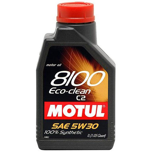 MOTUL 8100 ECO-CLEAN SAE 5W30 SM  1Litro